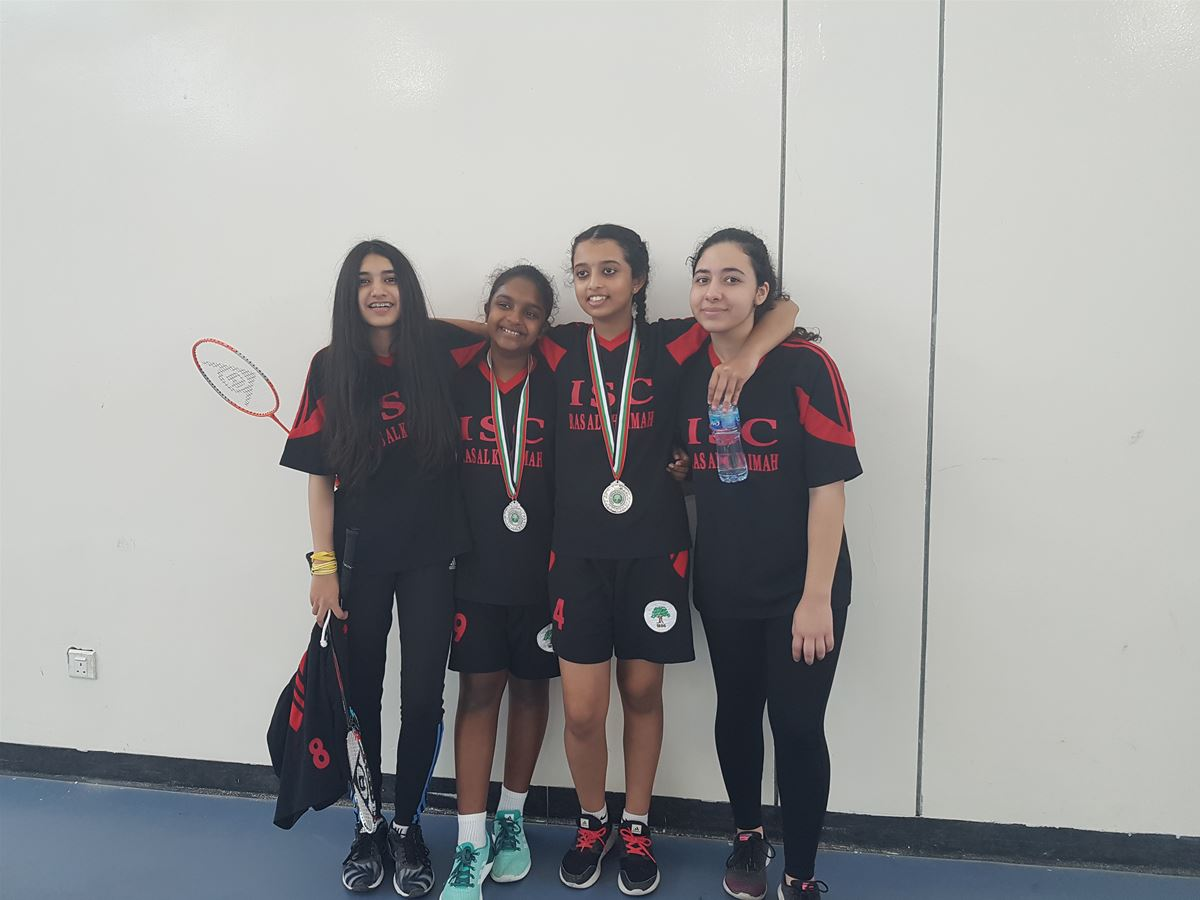 Girls Badminton competition